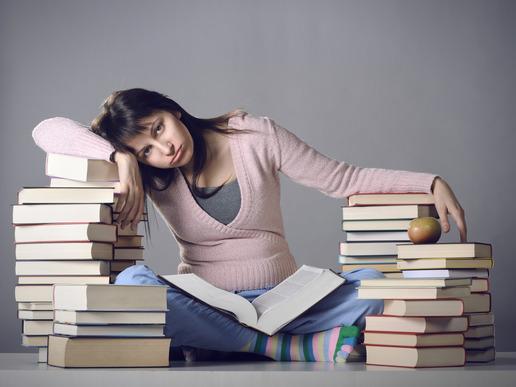 Stress over studiet